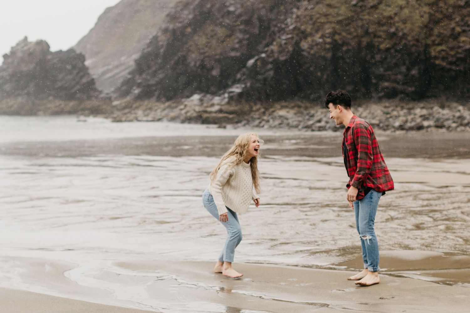 Oregon Coast Cannon Beach Engagement