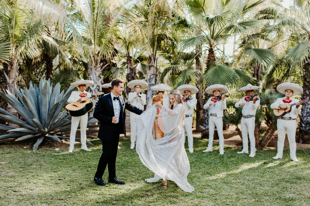 Acre Baja Wedding Ceremony