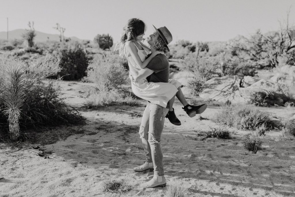 Pioneertown couple engaged