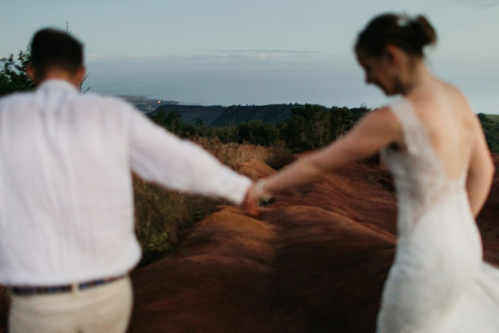 Waimea Canyon Bride Groom Wedding Portraits