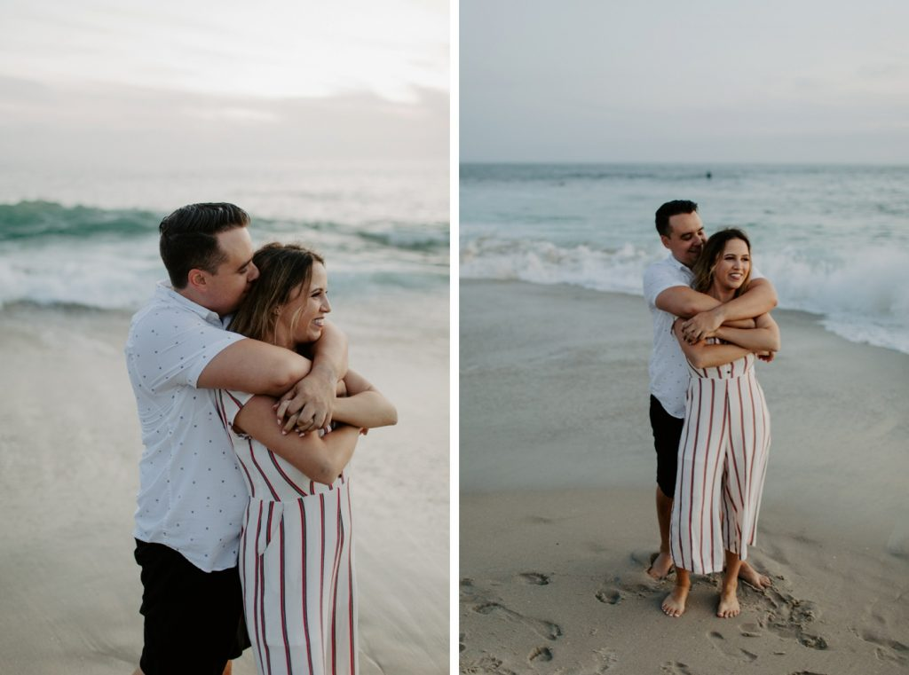 Windansea, La Jolla Sunset Engagement Shoot