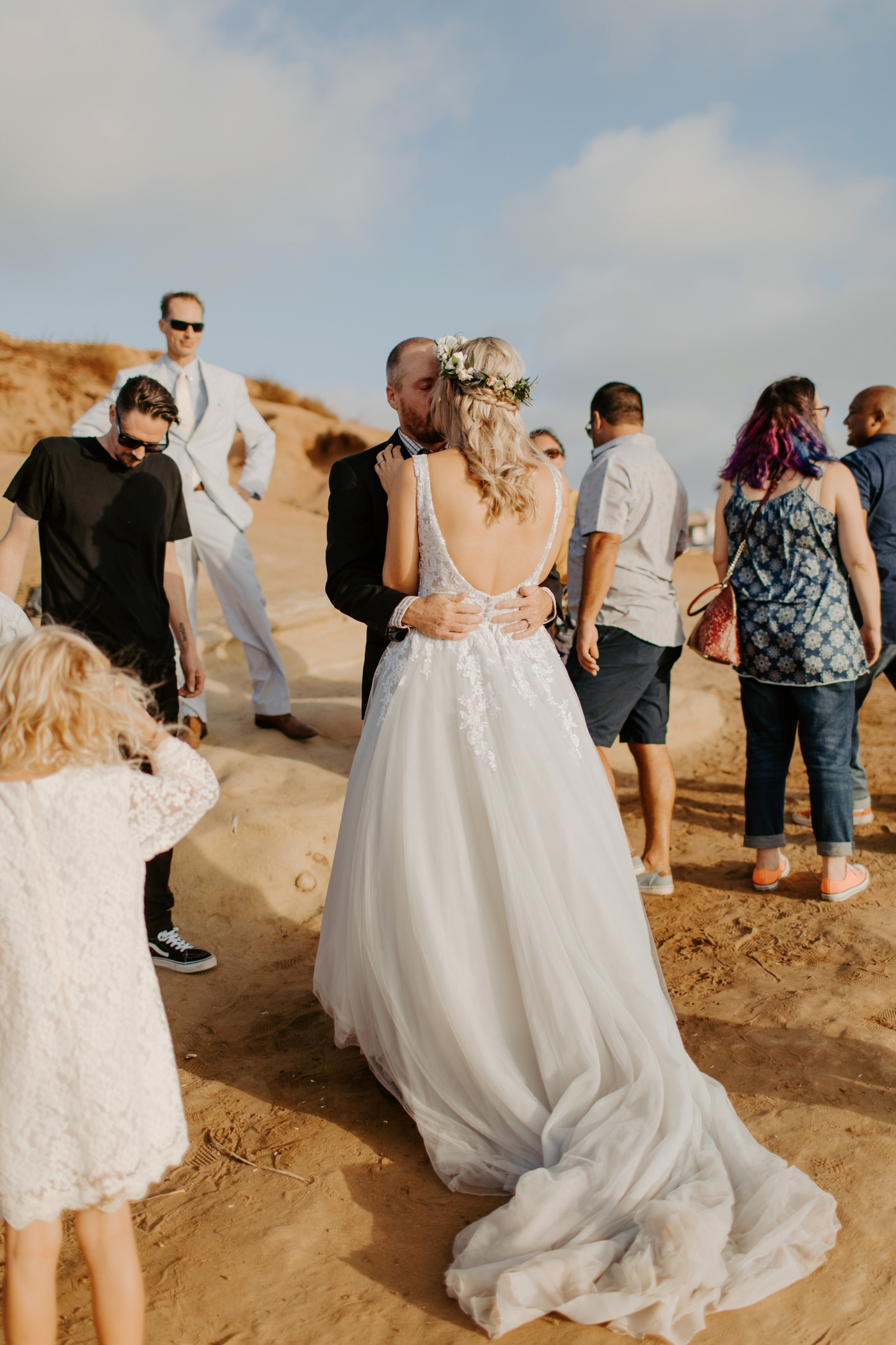 Sunset Cliffs Osprey Point Elopement