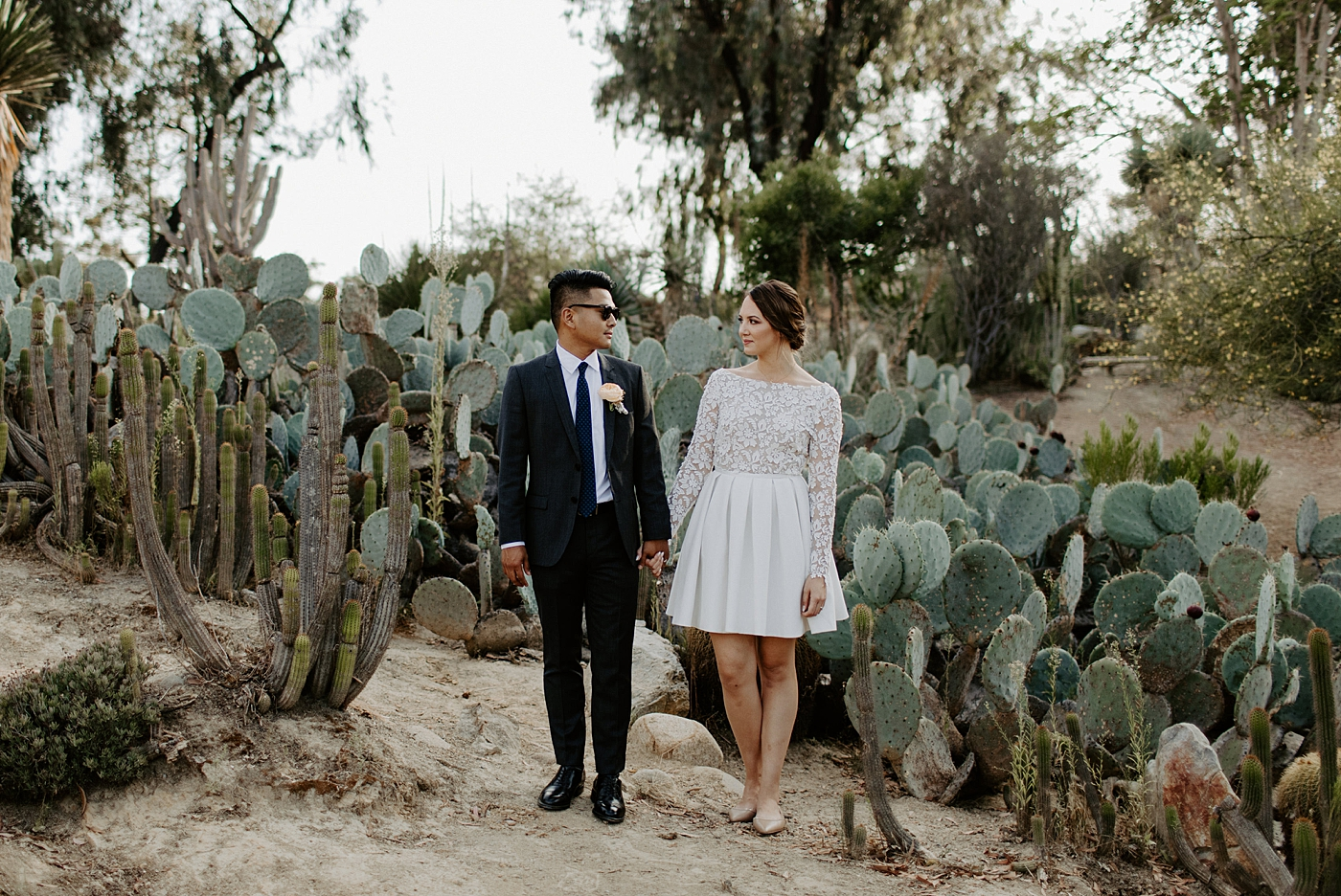 Balboa park elopement photos