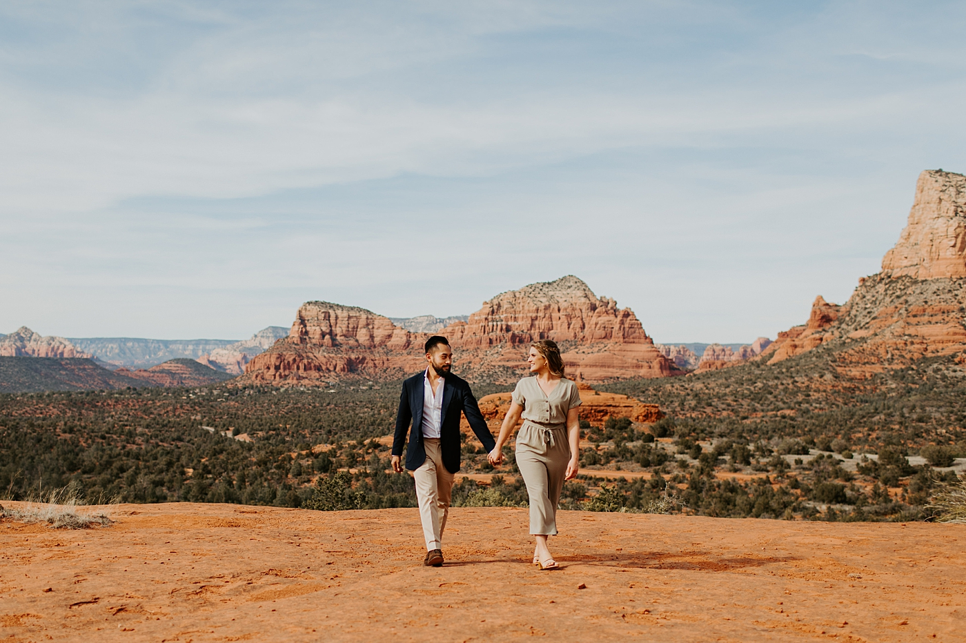 couple at bell rock